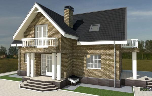 Проект дома 4m1442