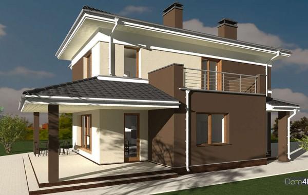 Проект дома 4m1445