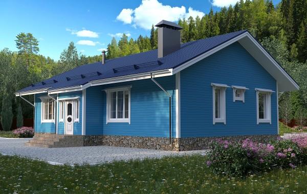 Проект каркасного дома 121 кв. м / Артикул А-130