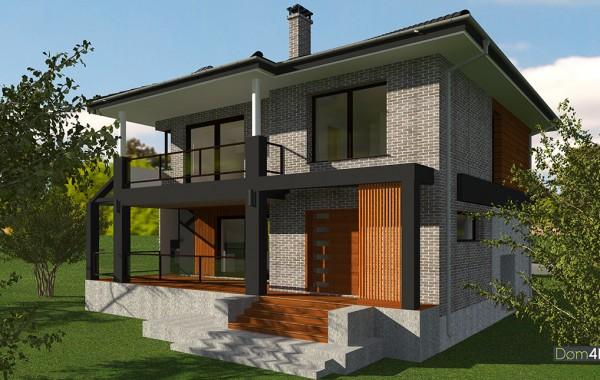 Проект дома 4m1451