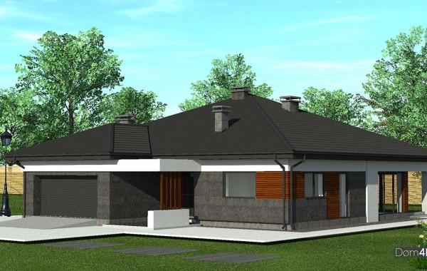 Проект дома 4m1455