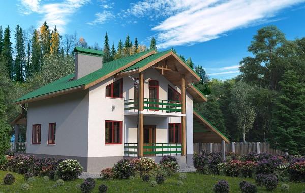 Готовый проект дома 147 кв.м // Артикул ВФ-133