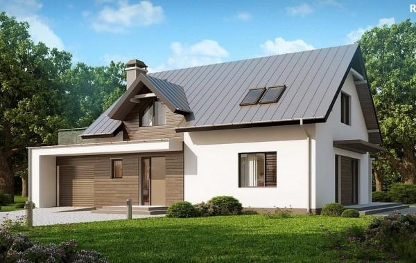 Проект коттеджа - 117 кв.м / / Артикул R-182