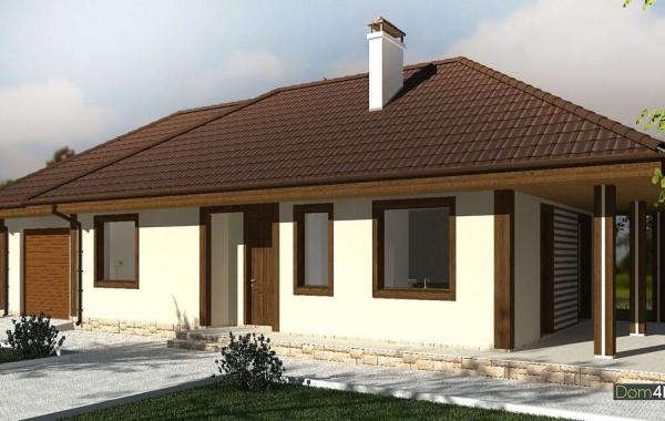 Проект дома 4m1454
