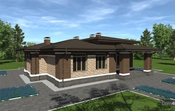 Проект дома 4m1474