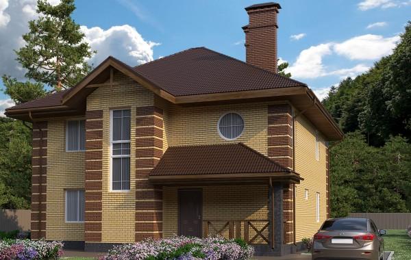 Готовый проект дома 200 кв.м // Артикул АСА-195