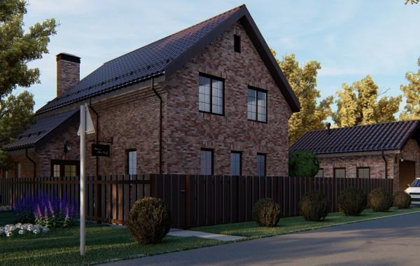 Двухэтажный проект загородного дома А 234