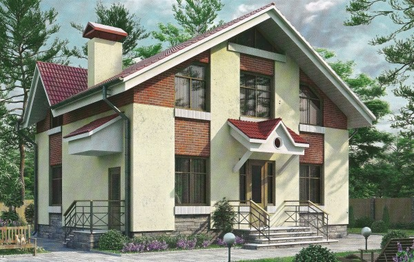 Проект дома 124 кв.м // Артикул ШУЯ-134
