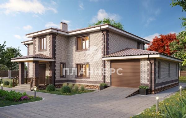 Проект дома Планнерс 056-273-2Г
