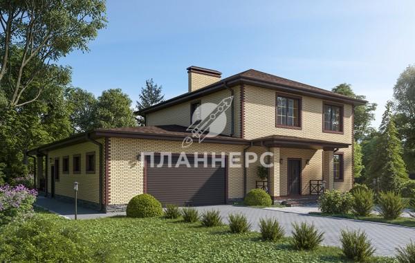 Проект дома Планнерс 108-293-2Г