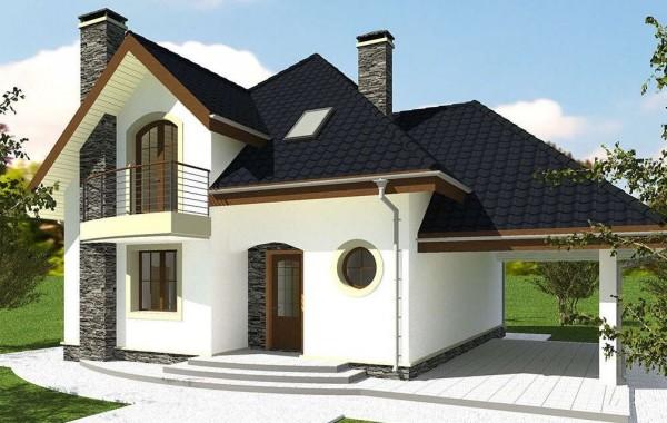 Проект дома 158 кв.м // Артикул R-53