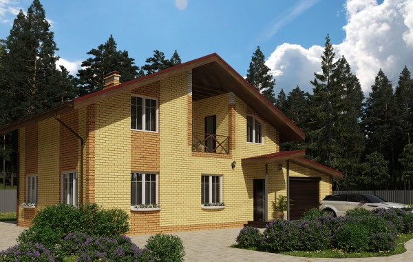 Готовый проект дома 111 кв.м // Артикул ПП-236