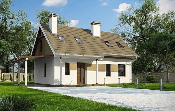 Проект дома 4m198а