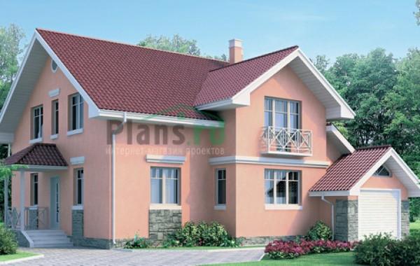 Проект бетонного дома 51-77