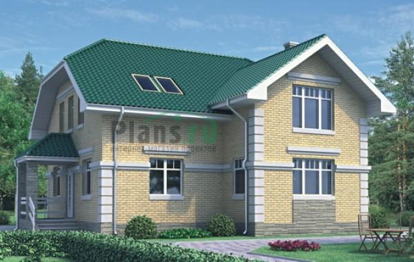 Проект бетонного дома 51-78
