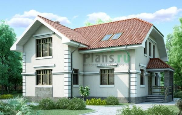 Проект бетонного дома 52-10