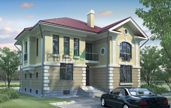 Проект бетонного дома 52-36