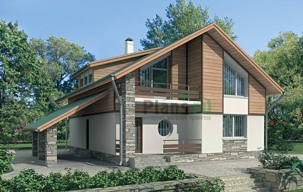 Проект бетонного дома 52-42