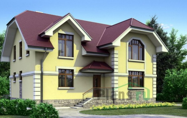 Проект бетонного дома 52-59