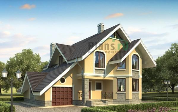 Проект бетонного дома 53-29
