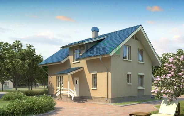 Проект бетонного дома 53-35