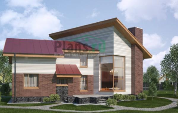 Проект бетонного дома 53-54