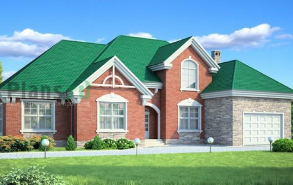 Проект бетонного дома 53-87