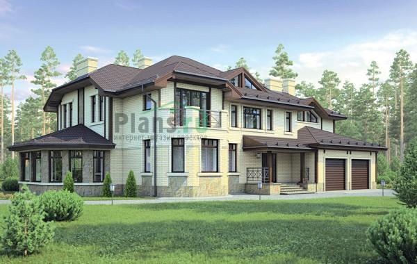 Проект бетонного дома 55-57