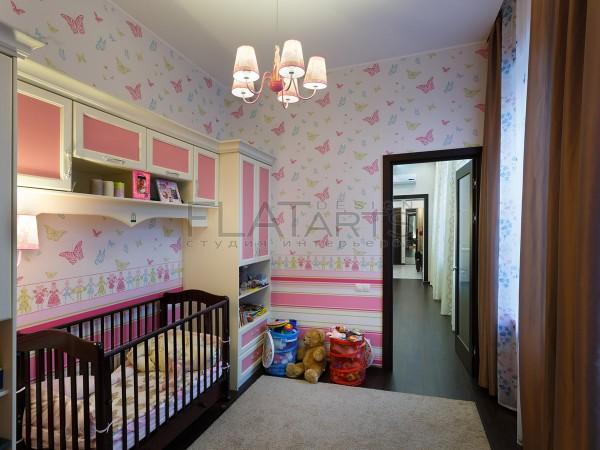 Фотографии квартиры 110 кв.м. после ремонта