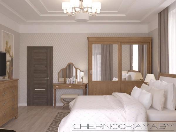 Дизайн спальни 20 м2