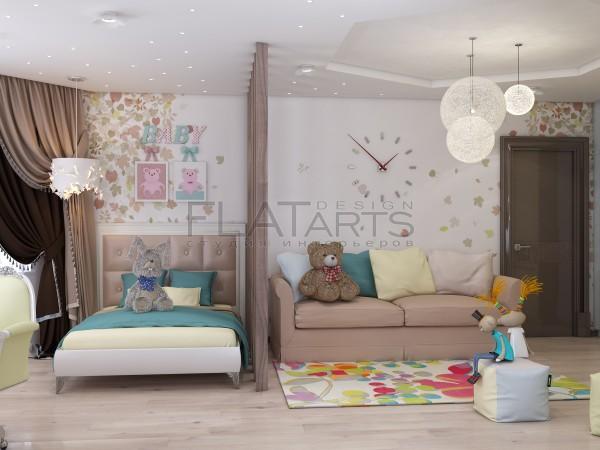 Дизайн дома 350 кв.м в стиле арт-деко.