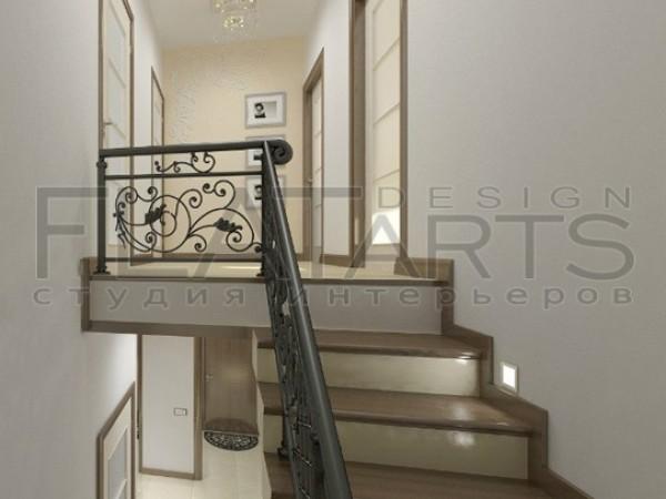 Дизайн коттеджа в современном стиле 130кв.м.