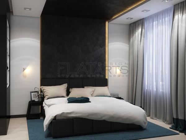 Дизайн квартиры в современном стиле 85кв.м.