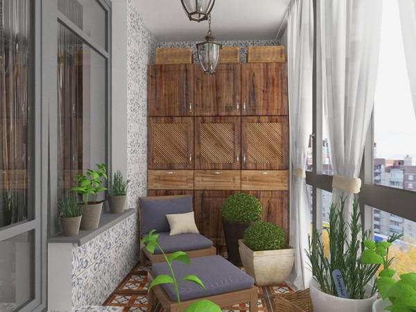 Балкон в квартире в Санкт-Петербурге