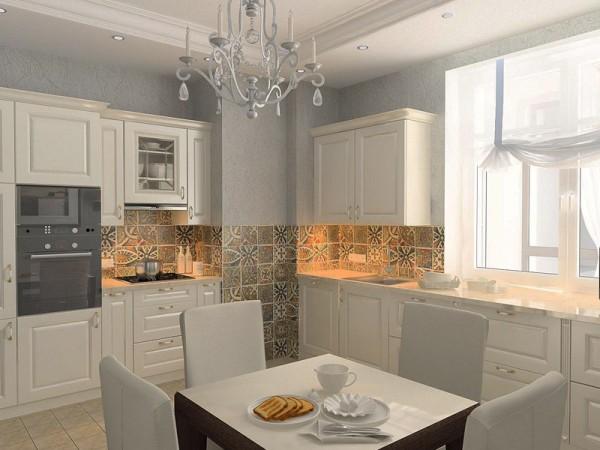Кухня в квартире в Санкт-Петербурге