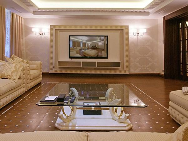 Гостиная загородного дома (Санкт-Петербург)