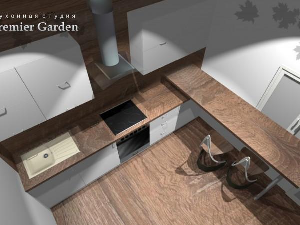 Кухня в стиле минимализм от Premier Garden