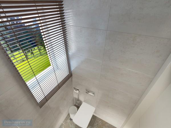 Туалет в загородном доме