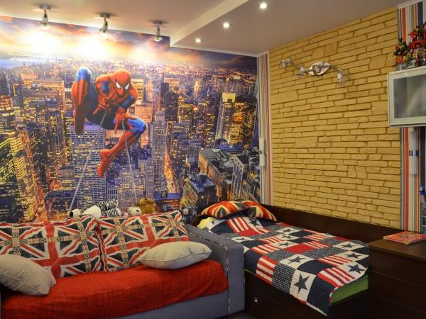 Детская комната в трехкомнатной квартире