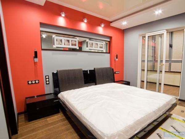 Спальня 12 кв. м в современном стиле