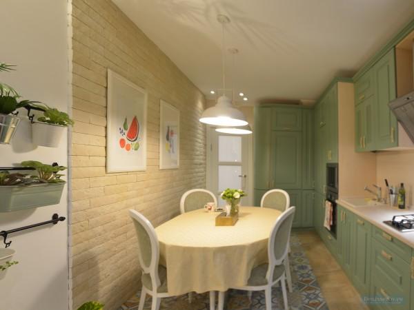 Кухня-столовая  15 кв. м
