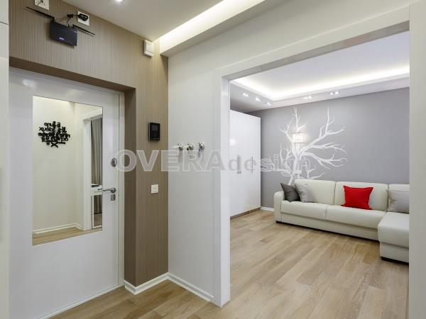 1-комнт кв.47 кв.м. Дизайн проект в современном стиле