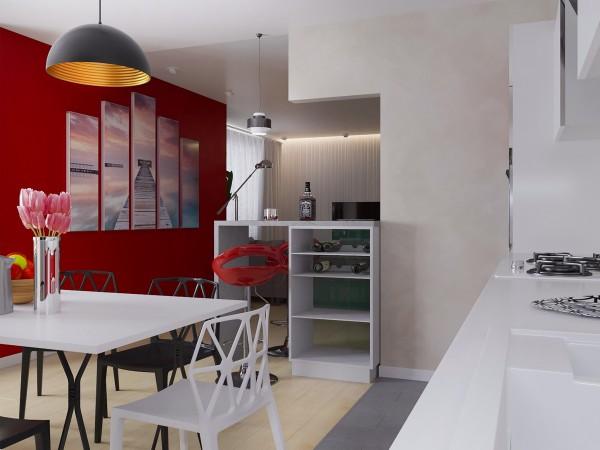 ЖК Времена года кухня-гостинная