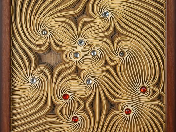 Многослойные панно из дерева