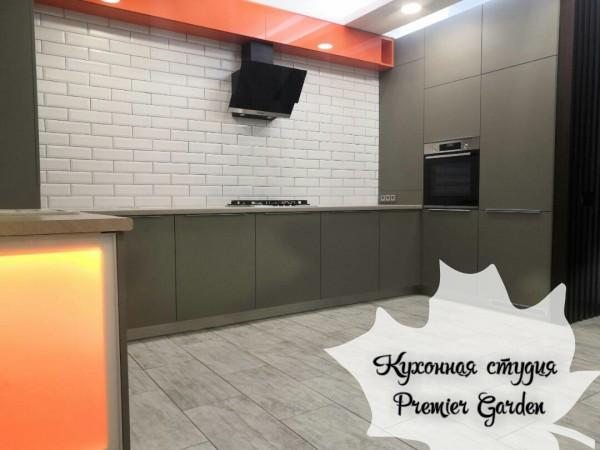 Кухня в мжк Счастье от Premier Garden