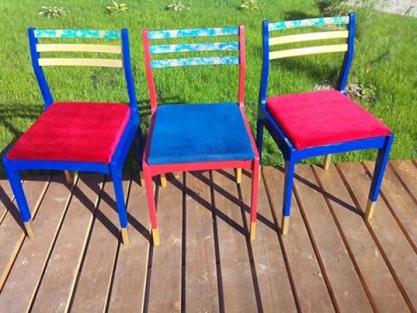 Переделка стульев.