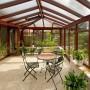 Сделать зимний сад из стекла