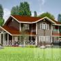 Каркасная технология строительства дома.