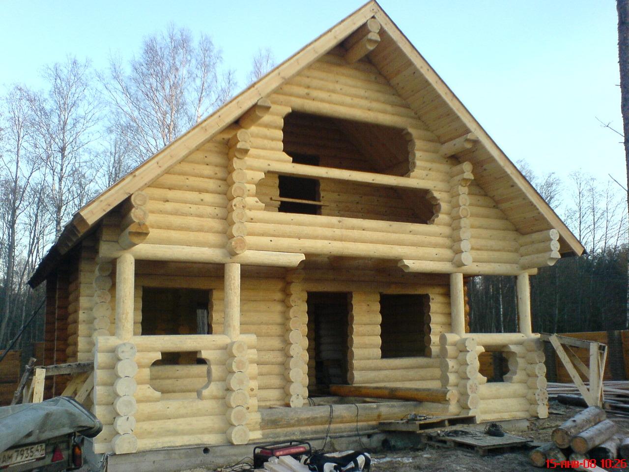Деревянный дом «Сруб»