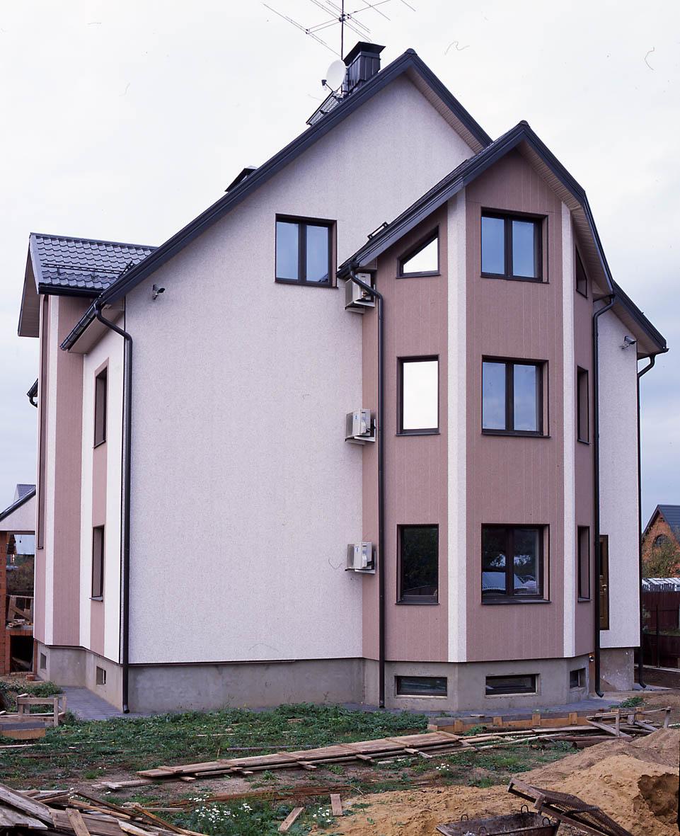 Навесной вентилируемый фасад фирмы Vinylit (Germany)